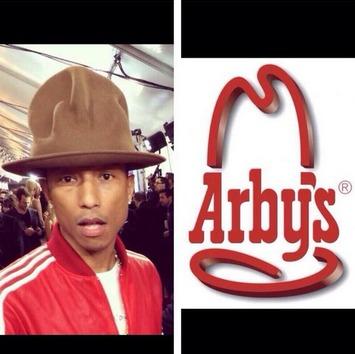 Pharrell's Hat Looks Familiar..