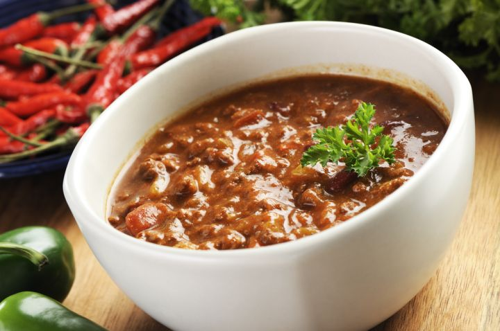 Beef & Brandy White Bean Chili
