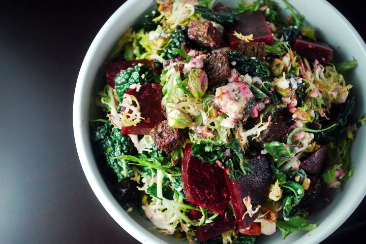 Beet & Frisee Salad