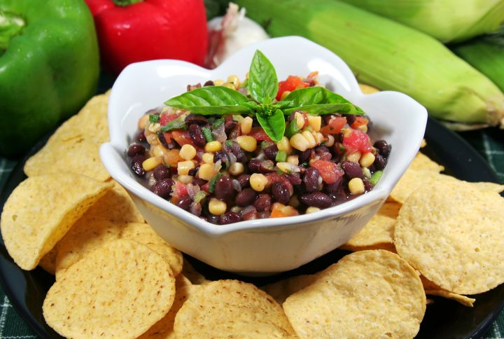 Four Layer Rum Bean Dip