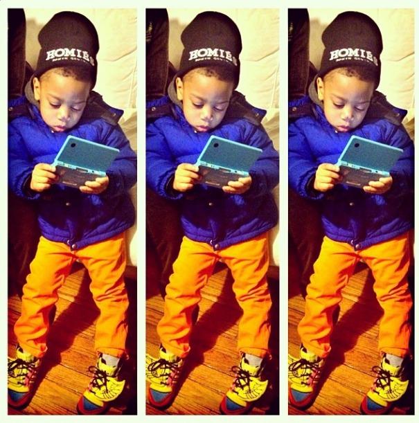Dope @nyvette's son