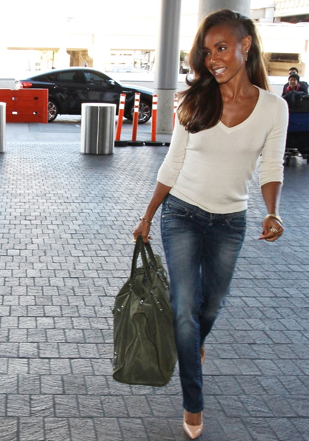 Jada Pinkett Smith Airport Outfit-1