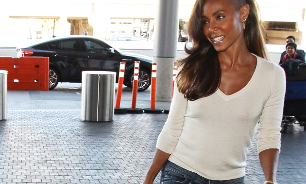 Jada Pinkett Smith Airport Outfit