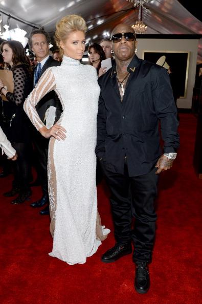 Birdman & Paris Hilton in Haus of Milan