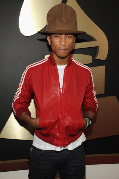 Pharrell in Vivienne Westwood and Adidas