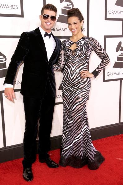 Robin Thicke & Paula Patton