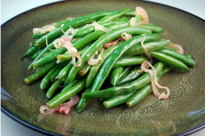 Green Beans & Shallots