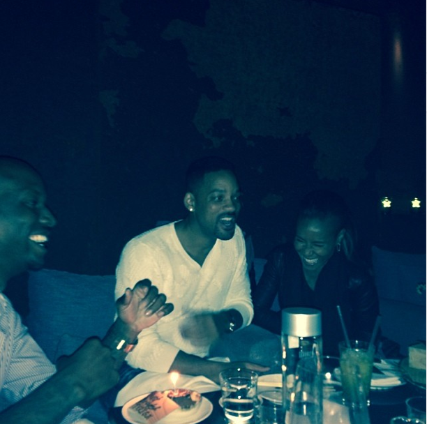 Will, Jada & Tyrese Laughin' It Up