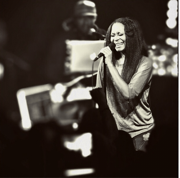 Sangin' Her Heart Out