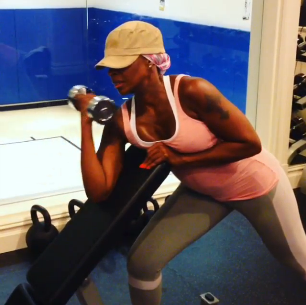 Mary J. Blige–Work Them Arms Girl!