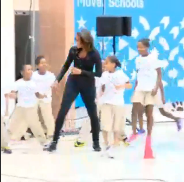 Michelle Obama-Let's Move!