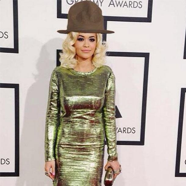 Rita Ora Makes An Interesting Fashion Choice…