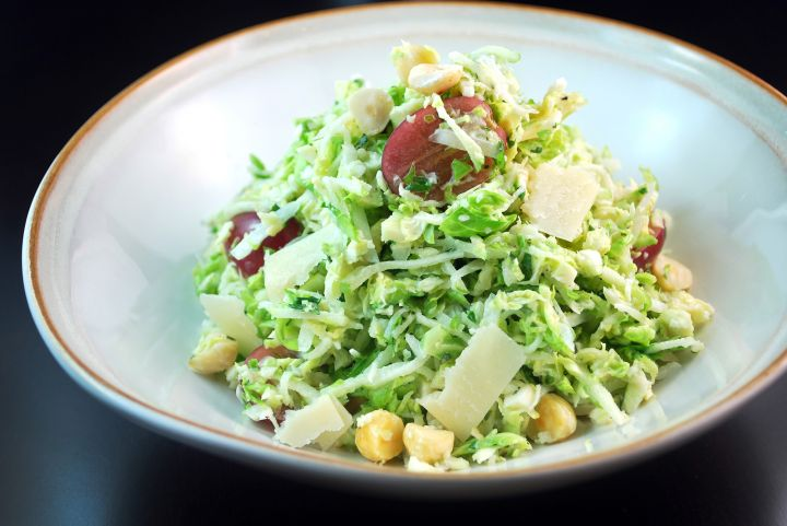 Brussels Sprout Salad With Buttermilk Dressing