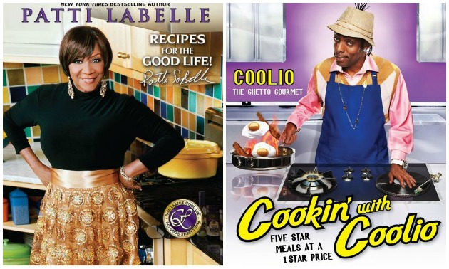 Celebs Who Cook, Then Write About It