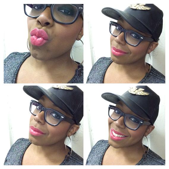 IMAN Kinky Pink - Collage
