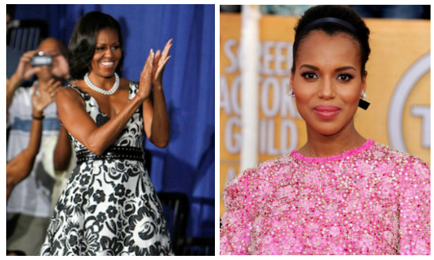 Michelle Obama Kerry Washington Scandal