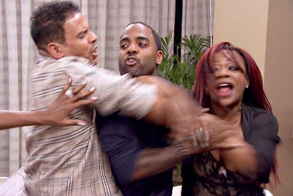 Todd holds Kandi back