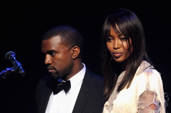 Naomi Campbell Kanye West 2011 amfAR Cinema Against AIDS - Show