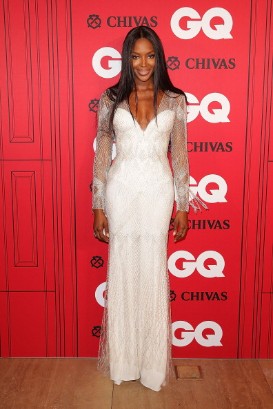 Naomi was white hot for the GQ Men of the Year Awards.