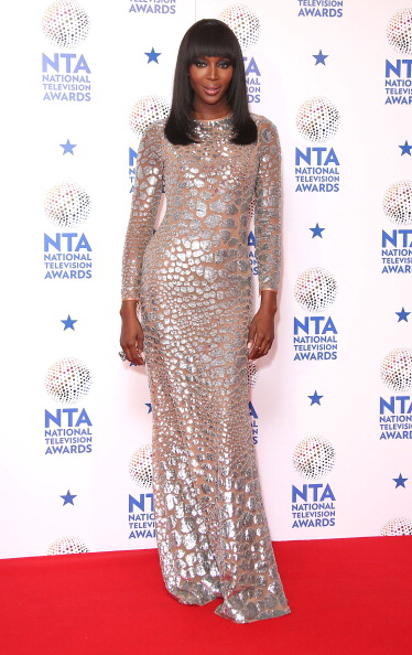 She got glitzy for the National Television Awards.