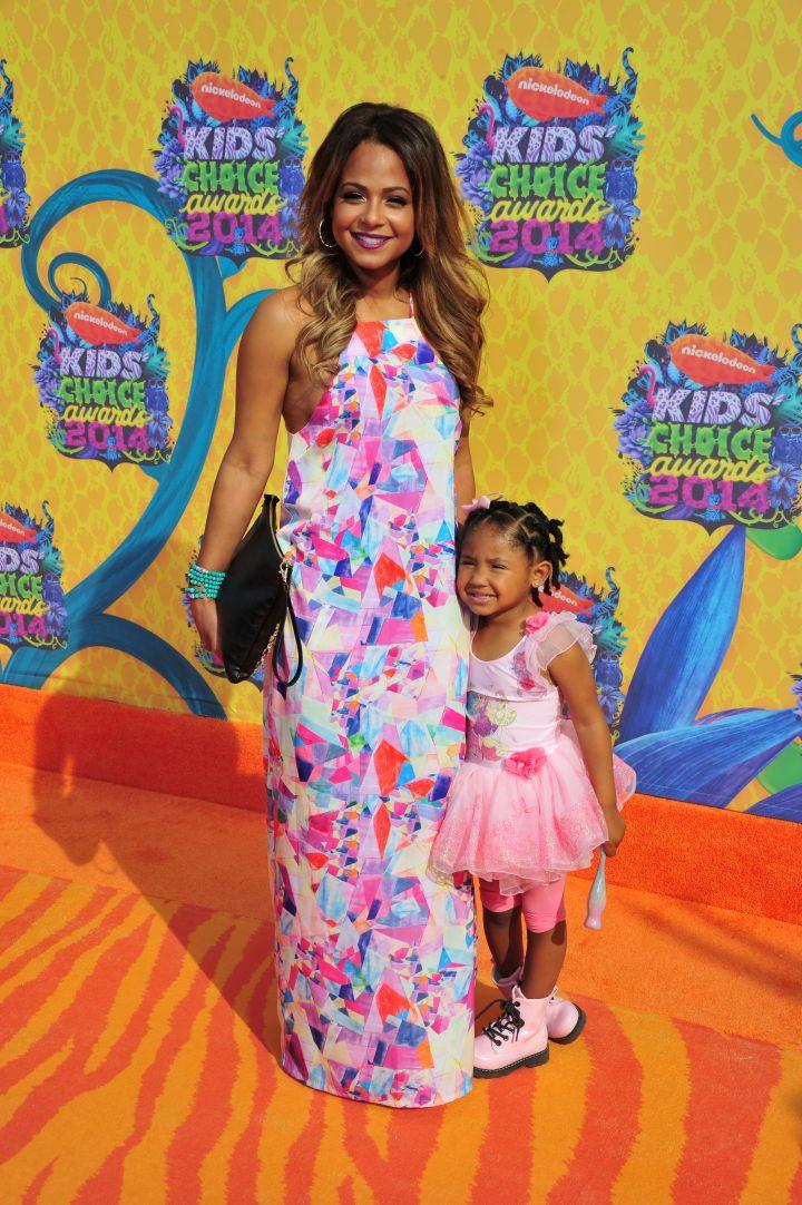 Violet Smiles With Mama Christina