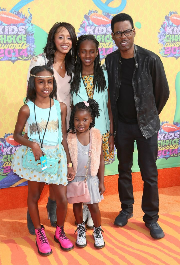 Chris Rock And Family