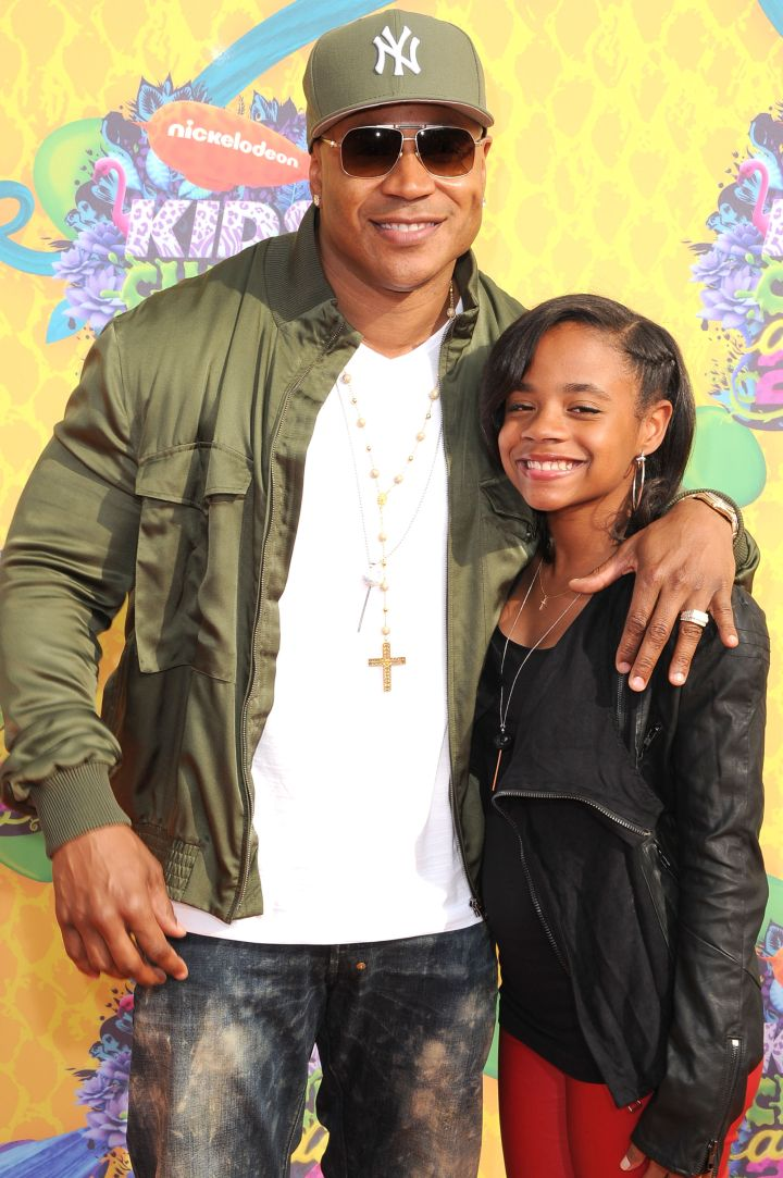 LL Cool J Is All Smiles With His Daughter