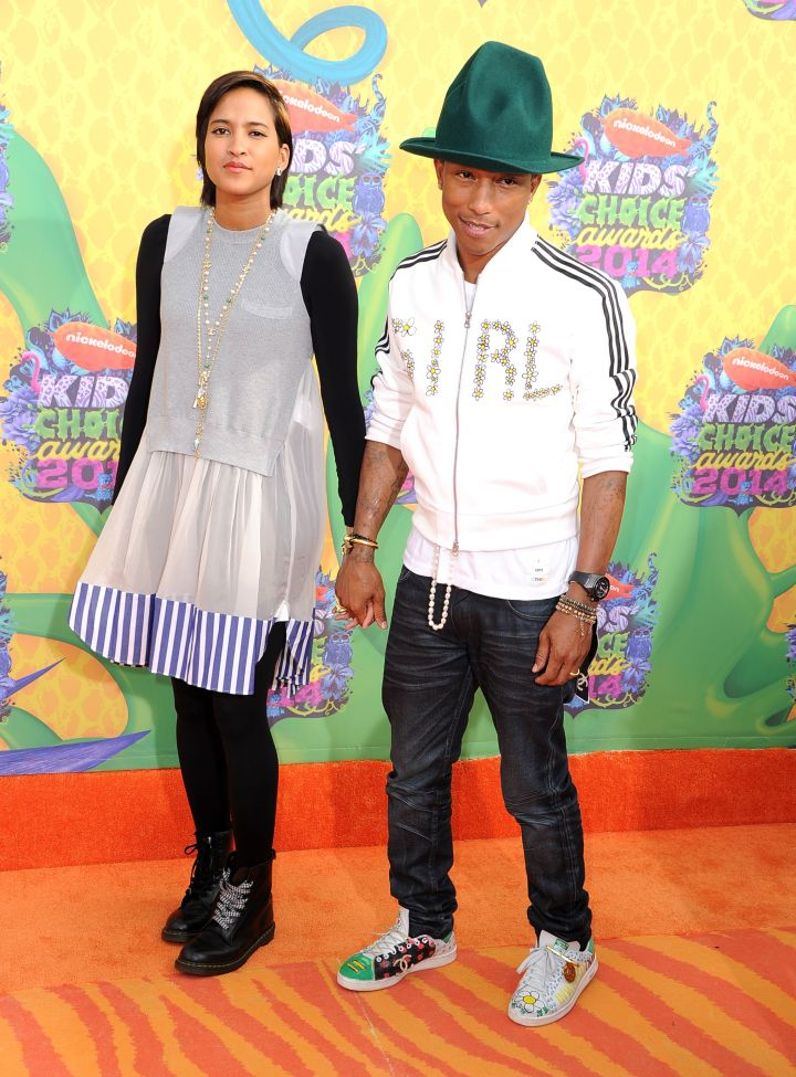 Pharrell Comes In Another Hat
