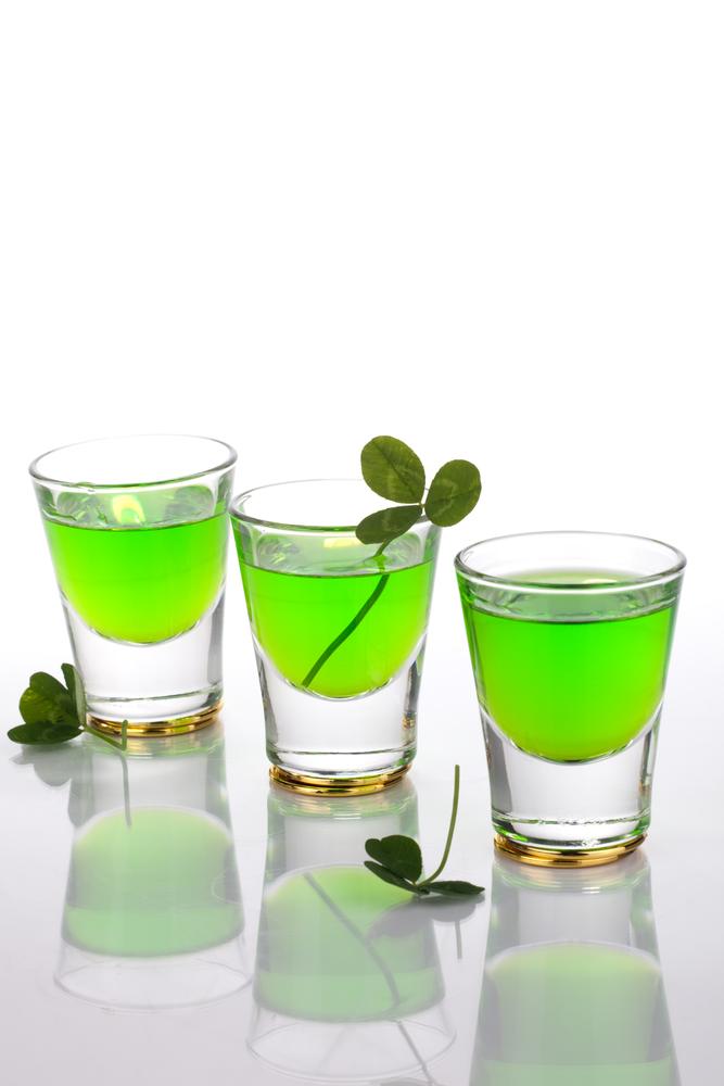 Irish Jello Shots