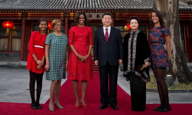March 2014; China Trip