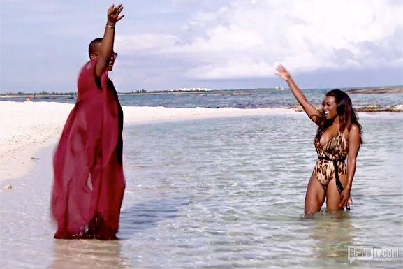 Miss Lawrence and Kenya