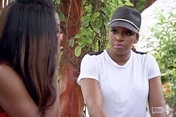 Nene and Kenya cry
