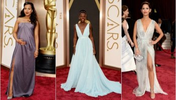 oscars red carpet dresses