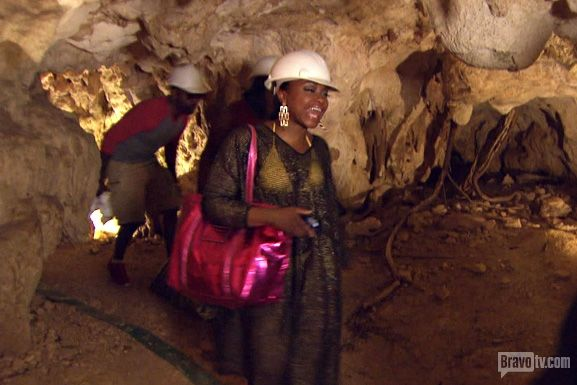 Phaedra in a cave