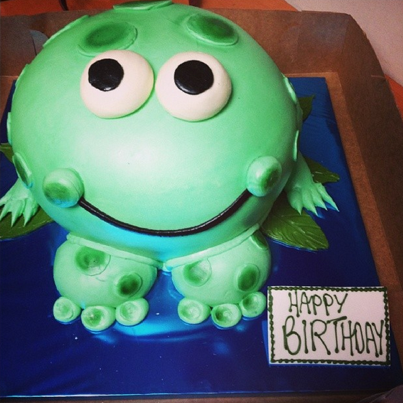 A Funky Birthday Cake