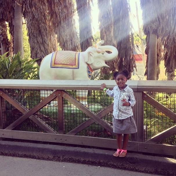 Ok, Karrueche's Niece Is Adorable!