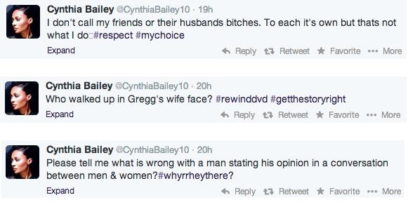 cynthia tweets
