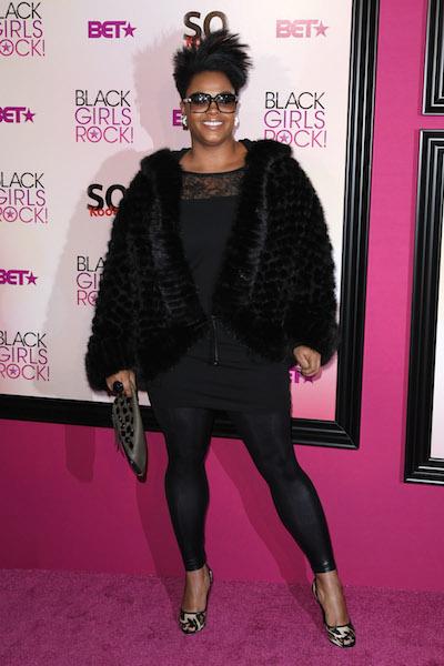 Jill Scott walks the red carpet at the 5th Annual Black Girls Rock! Awards