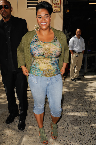 Jill Scott is spotted in New York City