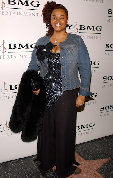 Jill Scott arrives at the Sony/BMG Music Entertainment 2005 After GRAMMY Awards Party