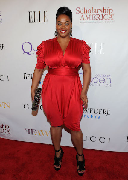 Jill Scott walks the red carpet at the 2nd Annual Mary J. Blige Honors Concert