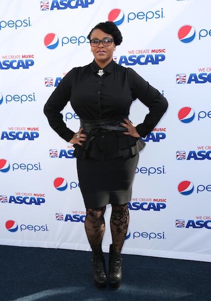 Jill Scott arrives at the 4th Annual ASCAP Rhythm and Soul Grammy Brunch