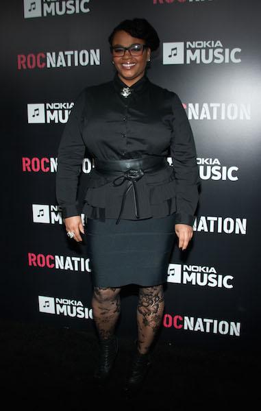 Jill Scott attends the Roc Nation Pre-GRAMMY Brunch