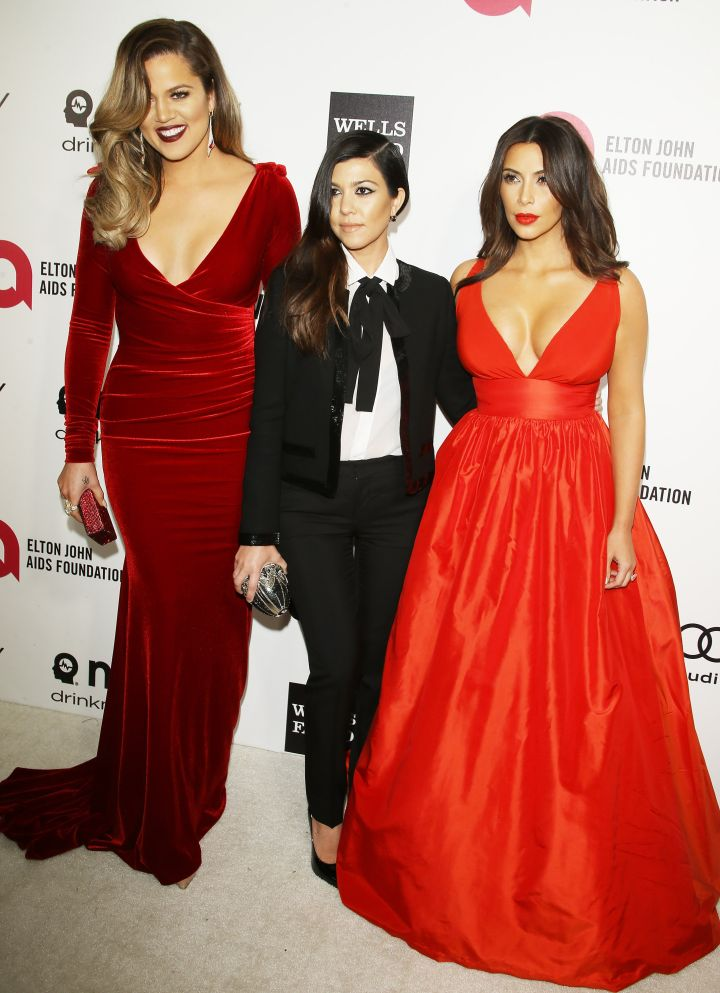 Khloe, Kourtney, Kim