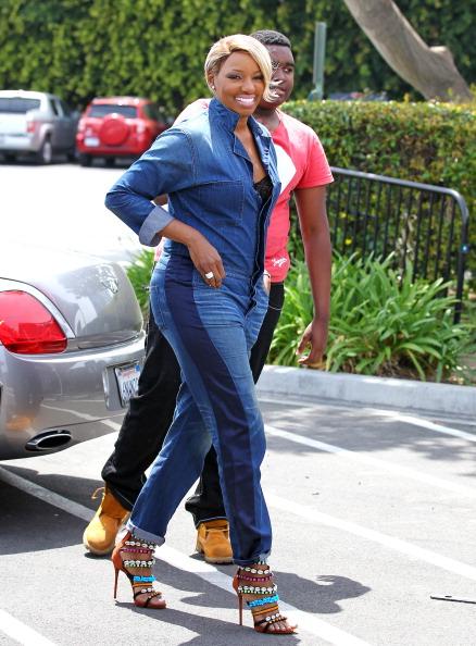 Nene Leakes Celebrity Sightings In Los Angeles - April 25, 2014