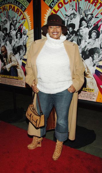 "Jill Scott attends ""Dave Chappelle's Block Party"" New York City Premiere"