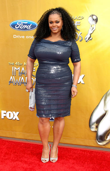 Jill Scott arrives at the 41st NAACP Image Awards