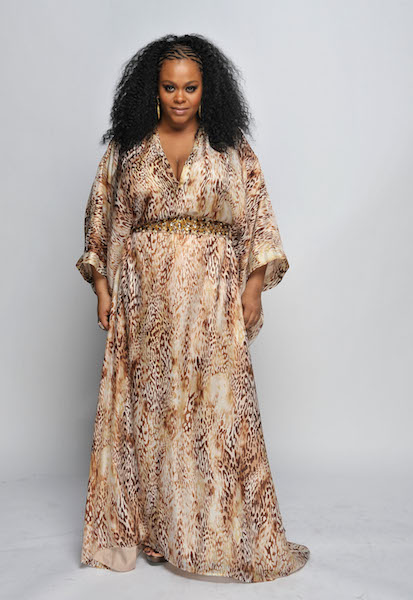 Jill Scott poses for a portrait during the 41st NAACP Image Awards