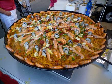 Paella: Valencia, Spain