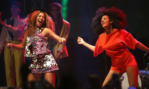 Beyonce solange coachella